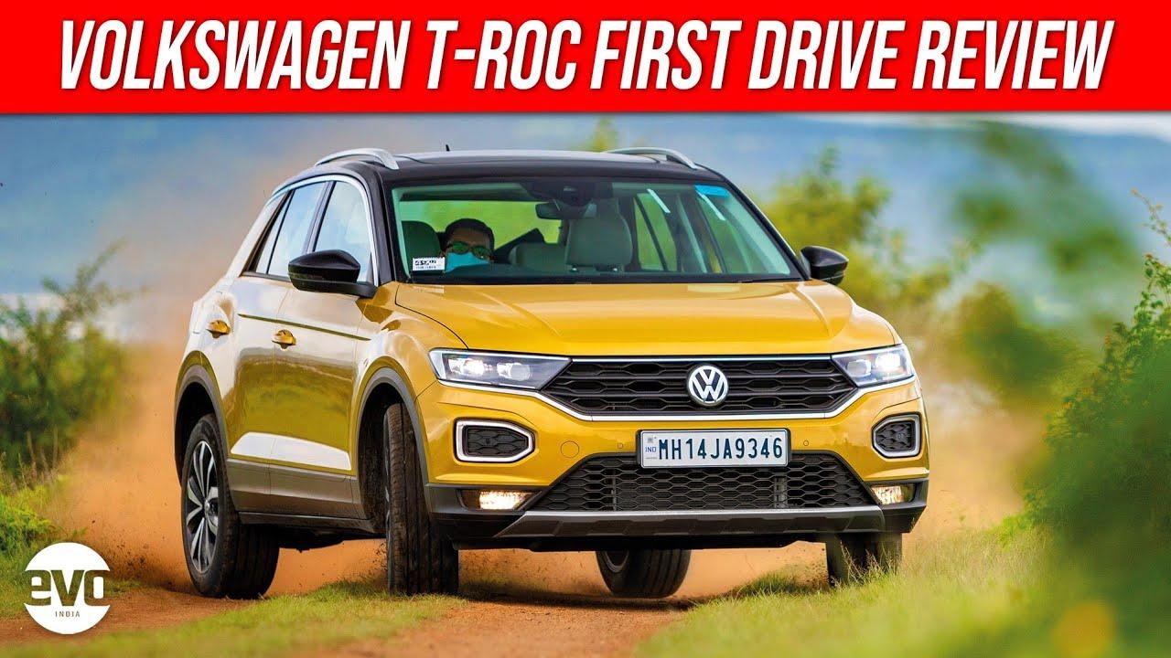 2020 Volkswagen T-Roc SUV Review | Sophisticated Premium Crossover | evo India