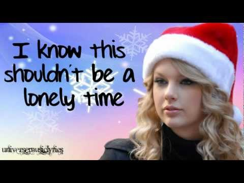 Christmases When You Were Mine- Taylor Swift (Lyrics Video) HD