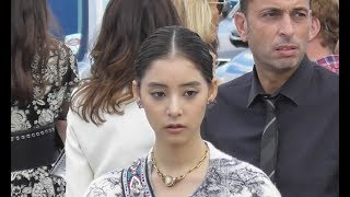Yuko Araki 新木 優子 @ Paris 24 september 2018 Fashion Week show Di...