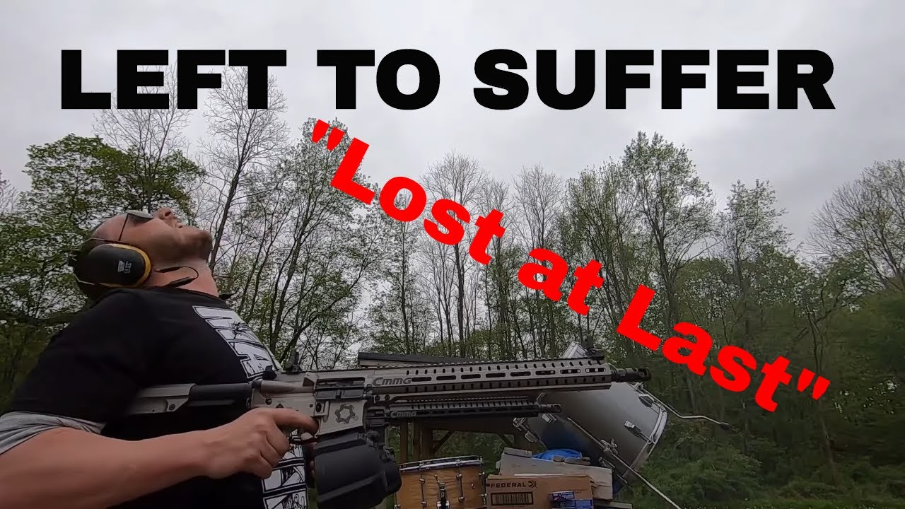 "Left to Suffer - ""Lost at Last"" Gun Cover!"