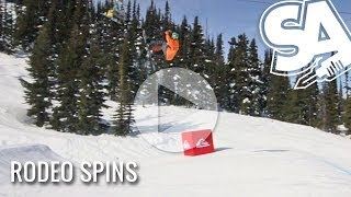 How To Rodeo Flip On A Snowboard
