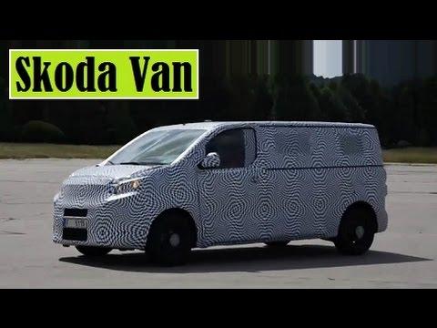 Skoda Van Based On The New Volkswagen Transporter T6