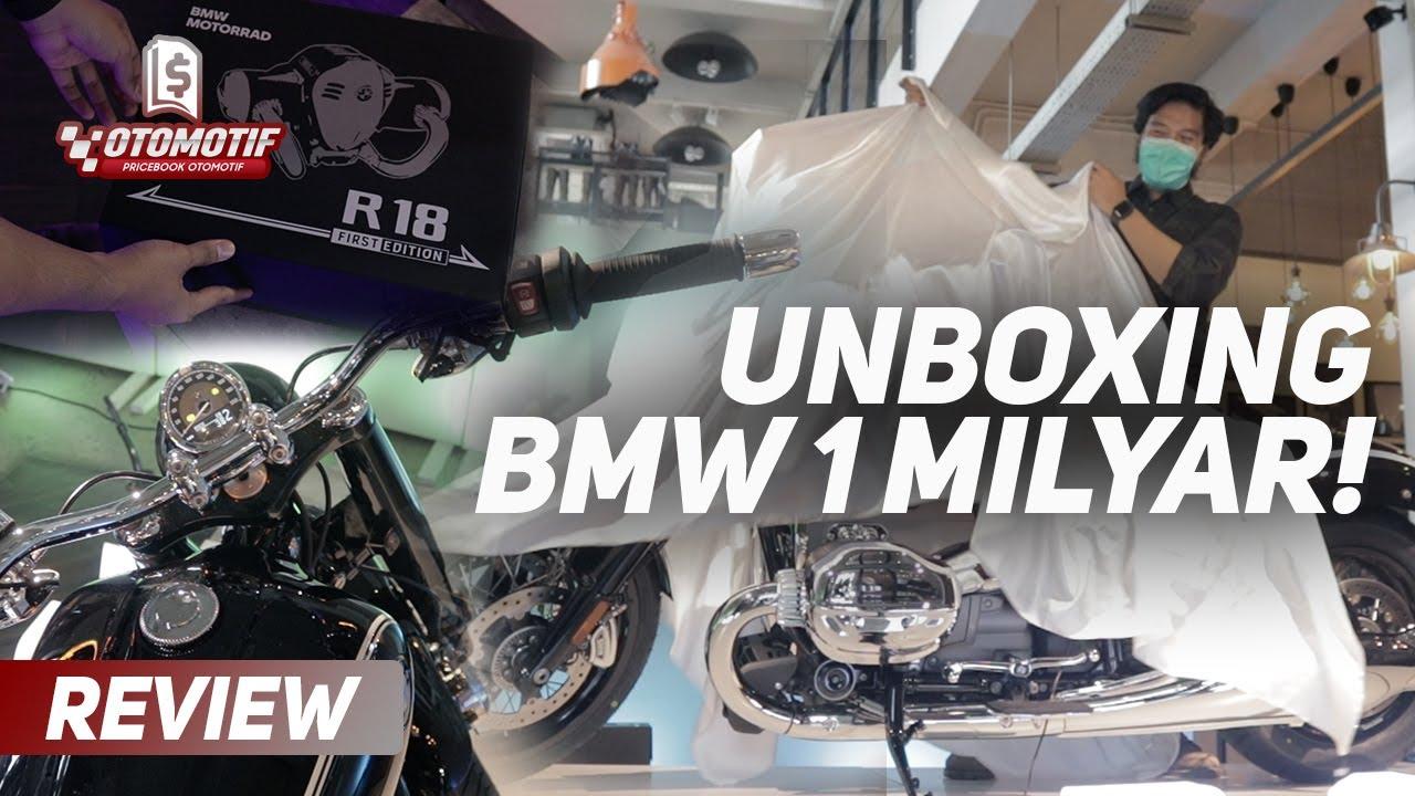 Unboxing BMW R18 First Edition 2020! Motor Cruiser Klasik dari BMW Lawan Berat Harley!