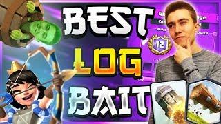 Original Log Bait Deck Is Op! Pro Tips & Tricks | Rocket Bait Deck — Clash R