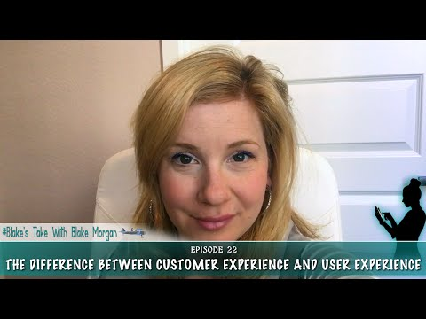 The Difference Between Customer Experience And User Experience