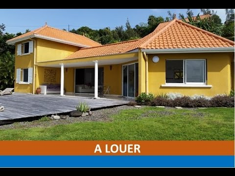 A louer villa f4 case pilote martinique youtube - Bon coin chambre a louer ...