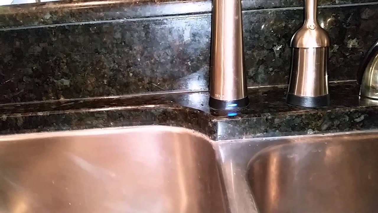 Troubleshooting Delta Touch20 faucet - YouTube
