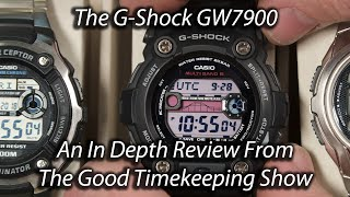 Casio G-Shock GW7900 In-depth Review on The Good Timekeeping Show
