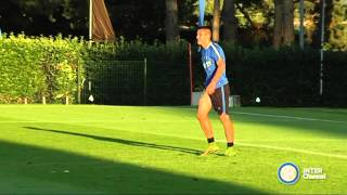 ALLENAMENTO INTER REAL AUDIO 25 09 2015