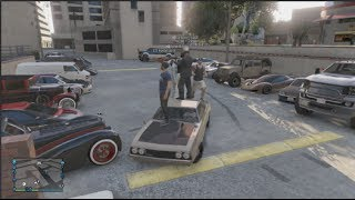 GTA 5 How to Have Biggest Personal Vehicle Car Meet - 29 Cars + Epic Ending