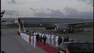 Arrival of the The Secretary of Foreign Affairs and Immigration of Kiribati.wmv