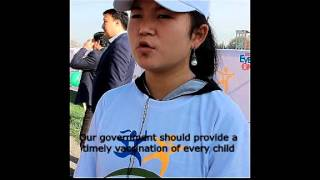 Children from Kyrgyzstan share their hopes for 2030