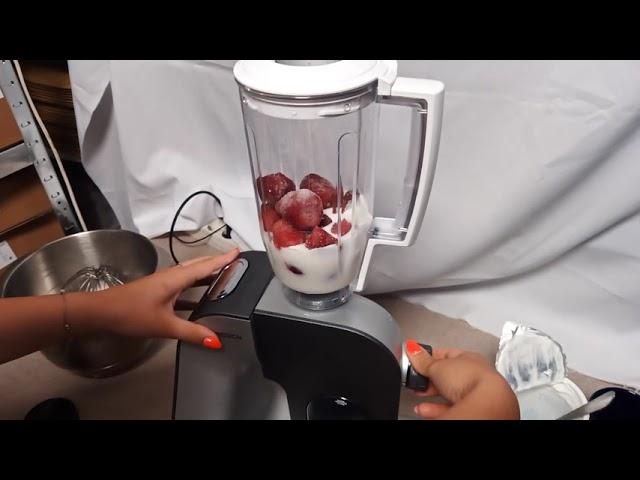 Bosch MUM5 robotgéppel epershake készítése turmixfeltéttel