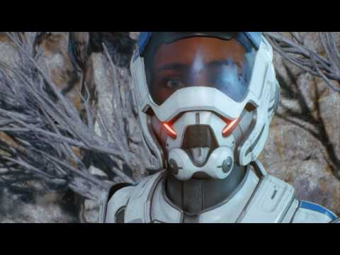 Mass Effect Andromeda Gameplay Part 2 - Alien Planet Discovery
