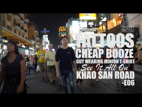 Bangkok, Thailand | Khao San Road | South East Asia Travel Vlog E06