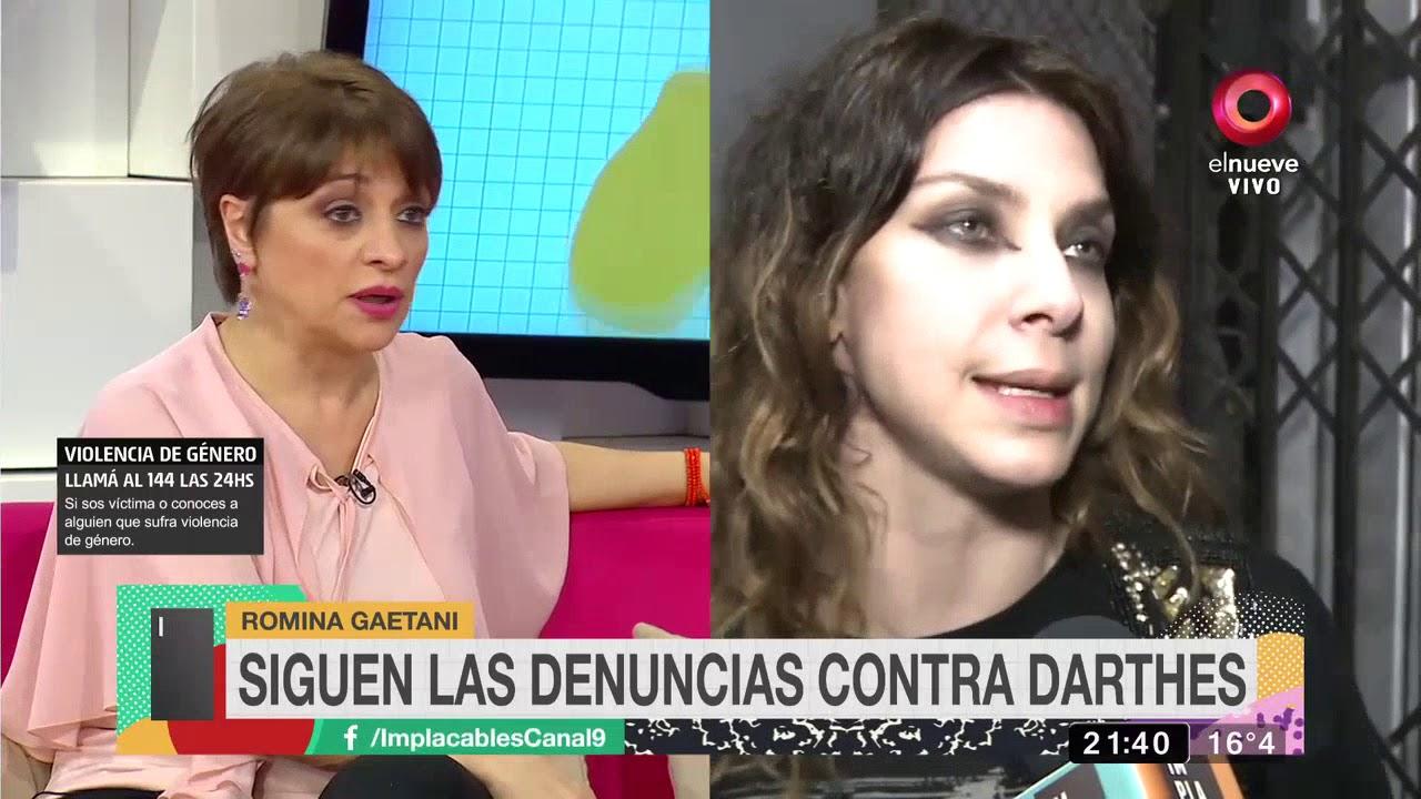 Romina Gaetani reveló que recibió agresiones tras su confesión sobre Juan Darthés