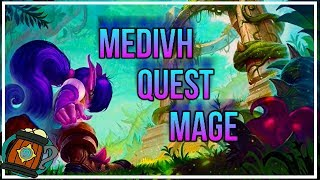 Hearthstone : Deck Tech Medivh Giant Quest Mage Journey to Un