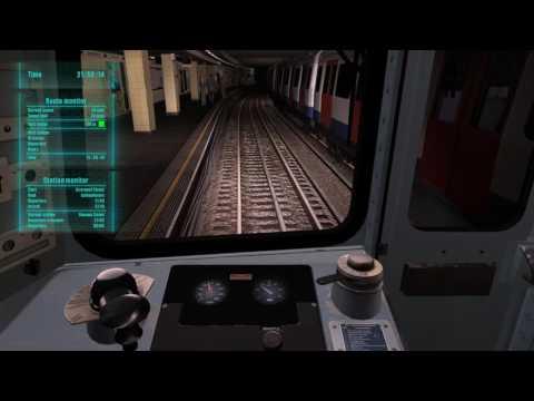 World Of Subways 3 – London Underground Circle Line (Dest at Embankment)(9:49 PM Run) |