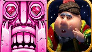 Temple Run 2 Blazing Sands VS Fananees Adventure Run Android iPad iOS Gameplay HD