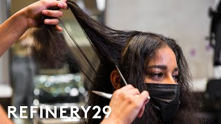 I Got A Cut To Restore My Damaged Curls | Hair Me Out | Refinery29