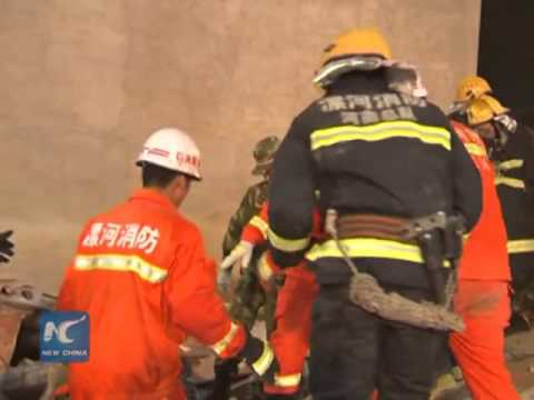 Breaking News: China building collapse in Henan province kills 17 workers