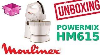 MOULINEX POWERMIX HM615 (UNBOXING)