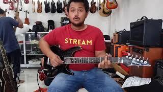 Jual Gitar Ibanez S black Pick up INF 3 - 4 Kirim ke ACEH SINGKIL by #dennystunt