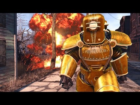 Fallout 4 Mods Add New Power Armor, Flashlights And The
