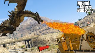DRAGON MELTS TRAIN - GTA 5 Mods