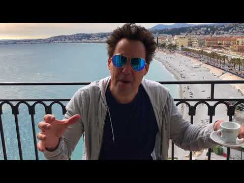 Motivation words from Orny Adams in Nice, France