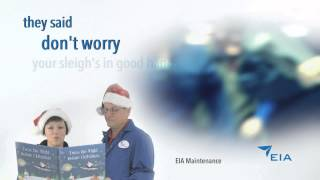 Merry Christmas from Edmonton International Airport employees