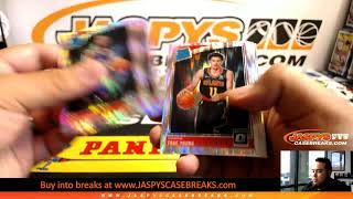 6/18/19 - 2018/19 Panini Donruss Optic Basketball Mega 1/4 Case 5-Box Break #2 EBAY