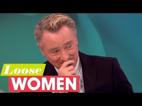 Janet's Cheeky Question to Michael Flatley | Loose Women