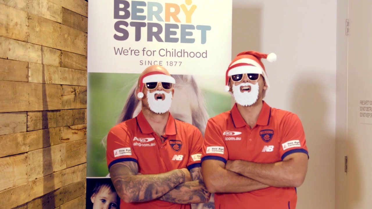 Melbourne Football Club supporting the Berry Christmas ...