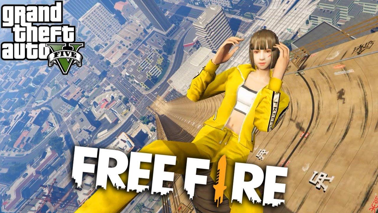 Gta V Mod Free Fire À¹'หม À¸‡à¹'ลก À¸ªà¸•à¸à¸£ Youtube