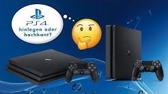PS4 waagerecht oder vertikal aufstellen? Was ist besser?