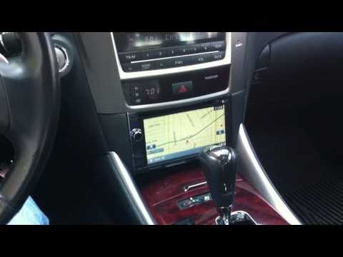 Lexus IS250 350 Double Din Pioneer Navigation Al & Ed's Marina Del Rey AVIC-X930BT