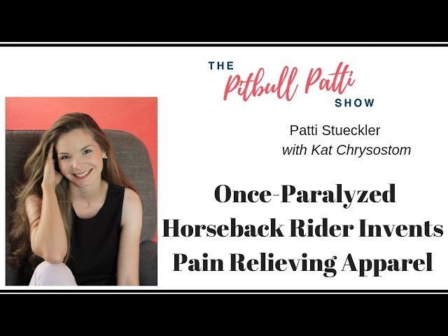 Once-Paralyzed Horseback Rider Invents Pain Relieving Apparel