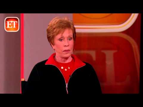 Carol Burnett On Late Daughter's Rehab Tough Love