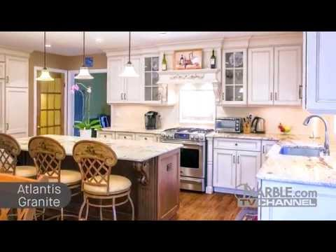 Top 5 Granites for White Cabinets | Marble