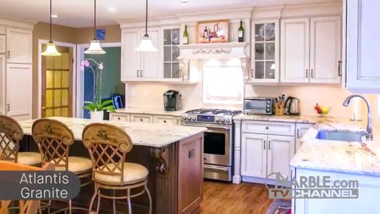 Top 5 Granites For White Cabinets Marble Com Youtube