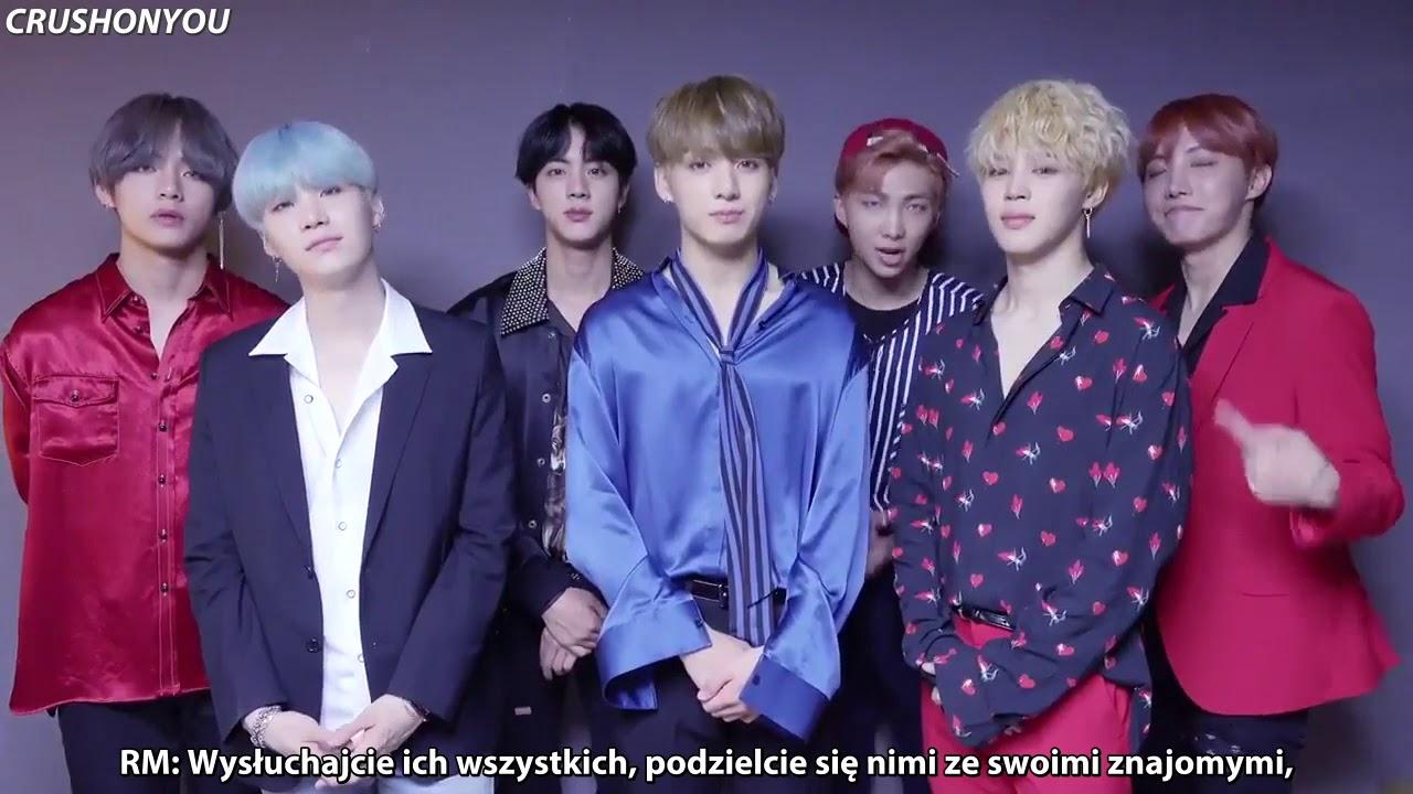 zniżka zamówienie online całkiem tania [POLSKIE NAPISY] 170919 Spotify: Message from BTS (K-pop Daebak Playlist)