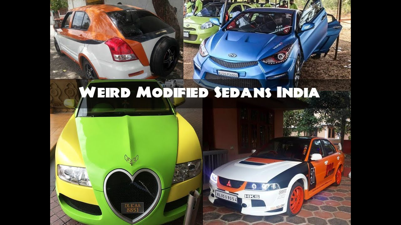 All Time Worst Modified Sedan Cars in India - YouTube