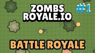 VICTORY! Zombs Royale Episode 1