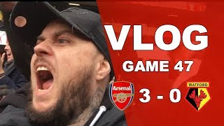 ARSENAL 3 v 0 WATFORD - WE SHOWED COJONES TODAY - MATCHDAY VLOG