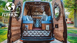 The Best SOLO FEMALE VAN CONVERSION I Have Ever Seen
