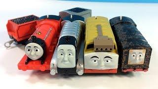 Trackmaster Tren Thomas ve Arkadaşları Oyuncak Trenler Kutu açma inceleme