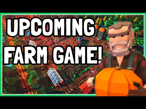 NEW Upcoming Relaxing Farm Game! - Farming Life | Demo Gameplay