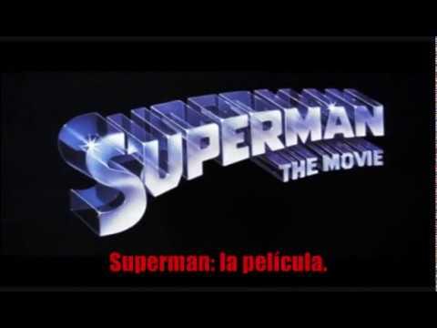 Superman (1978) Tráiler subtitulado en español.
