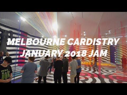 Melbourne Cardistry Jam | January 2018